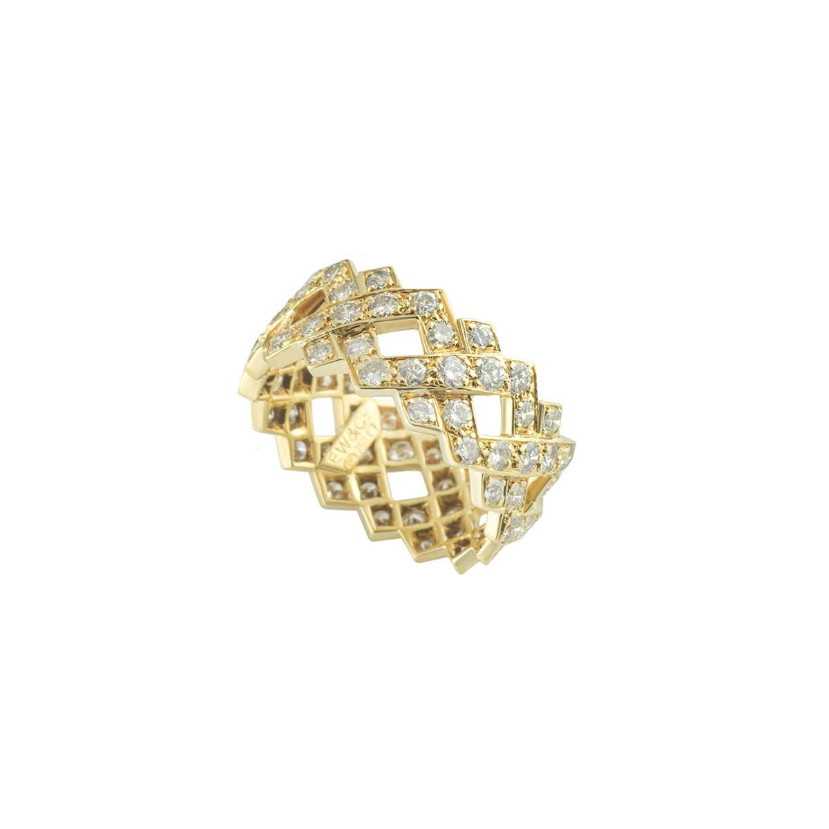 Yellow Gold Diamond Ring 1.28ct G/VS